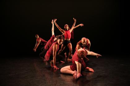 v c u arts dance students performing