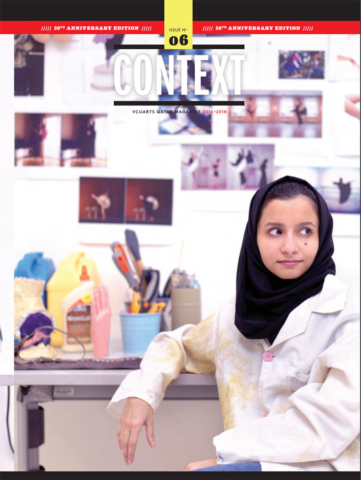 context magazine cover