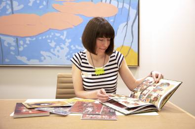 art history graduate student