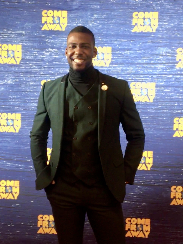 devario at come from away event