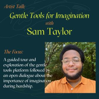 artist talk and virtual tour