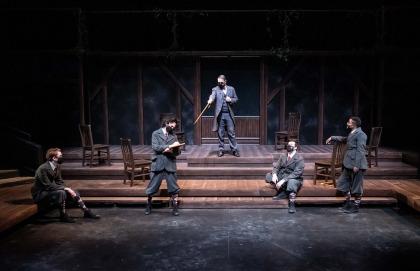 v c u arts students performing on stage