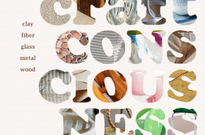 Craft Consciousness exhibition promo