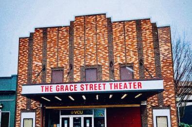 facade of grace street theater